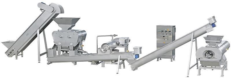 Fratelli Indelicato - System for tropical fruit juice    extraction